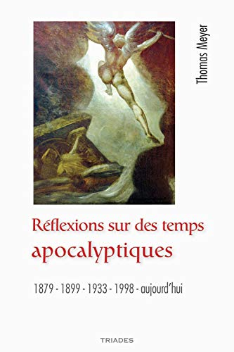 9782852483880: Reflexions Sur des Temps Apocalyptiques