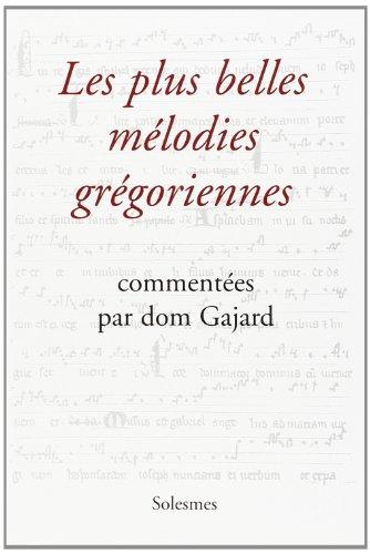 9782852741966: Plus Belles Melodies Gregoriennes