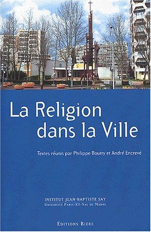 9782852760813: La religion dans la ville