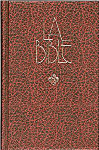 9782853001236: French Bible with Apocrypha