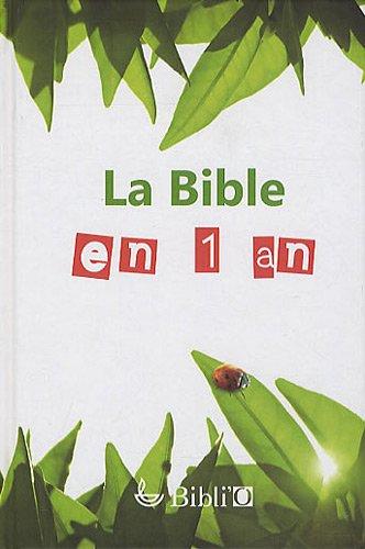 9782853001243: La Bible en 1 an : En français courant (sans les livres deutérocanoniques)