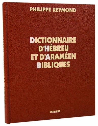 9782853007139: Dictionnaire d'hébreu et d'araméen bibliques (French Edition)