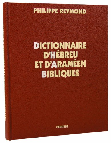 9782853007139: Dictionnaire d'hébreu et d'araméen bibliques
