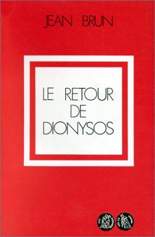 9782853040570: Le retour de Dionysos