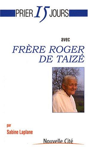 9782853135535: Frère Roger de Taizé