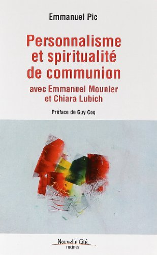 9782853136112: Personnalisme et spiritualit� de communion