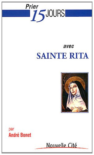 9782853136662: Prier 15 jours avec sainte Rita