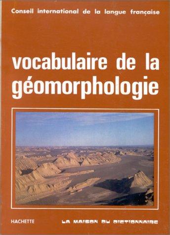 9782853190640: Vocabulaire de la géomorphologie