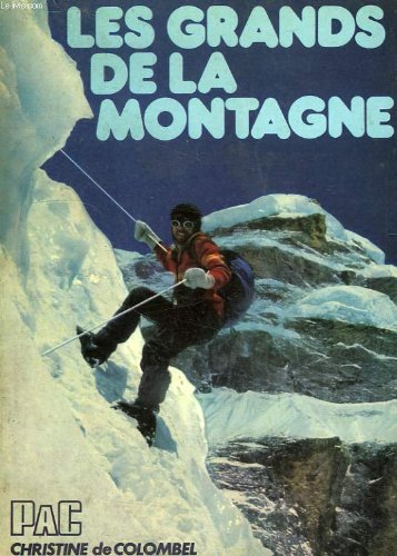 9782853360494: Les Grands de la montagne (Collection Les Grands du sport)