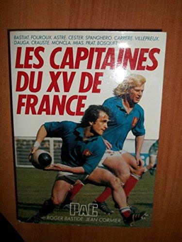 9782853360586: les capitaines du XV de france