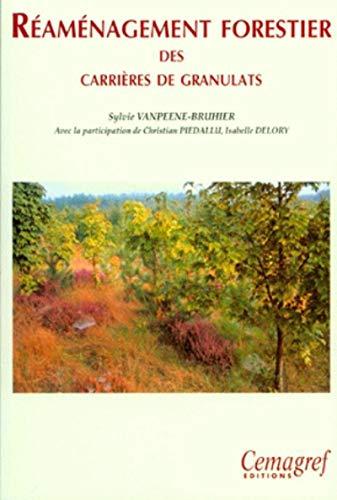 Réaménagement forestier des carrières de granulats [Oct
