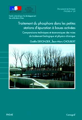 Traitement du phosphore dans les petites stations d'épuration à ...