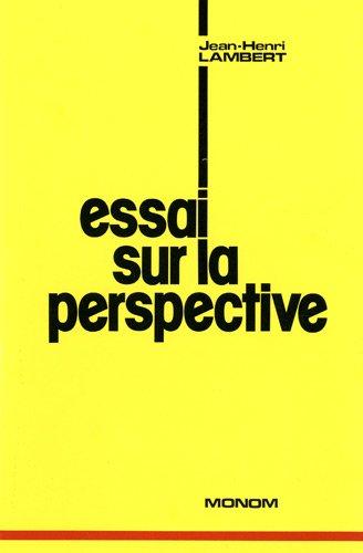 9782853671156: Essai sur la perspective