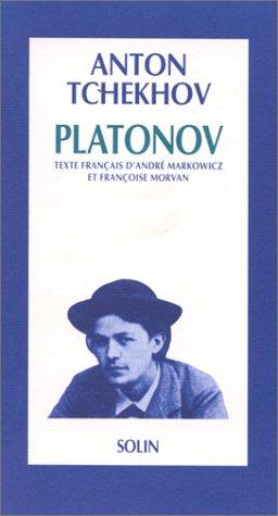 9782853760829: Platonov : [Villeurbanne, Théâtre national populaire, 2 mars 1990]
