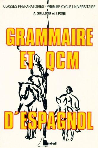 9782853943024: Grammaire et QCM d'Espagnol