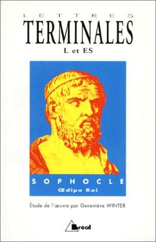 9782853948296: Lettres, terminale L et ES. Sophocle
