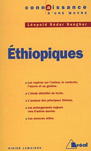 9782853949897: Ethiopiques - senghor