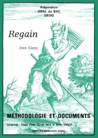 Préparation oral du bac et DEUG: Regain de Jean Giono (2853980863) by [???]