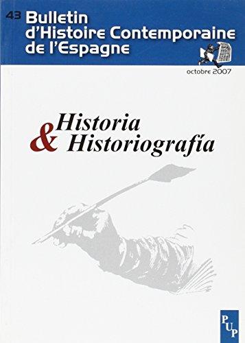 9782853996907: Historia E Historiografia (French Edition)