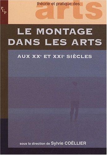 le montage dans les arts aux XX et XXI siècles: Sylvie Co�llier