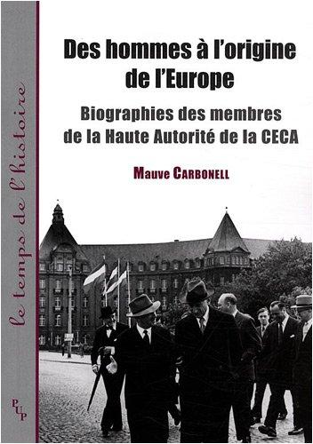 Des hommes à l'origine de l'Europe (French Edition)