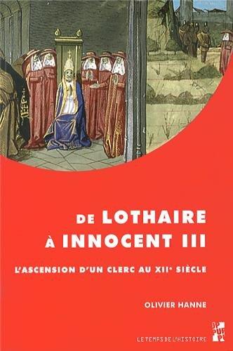 De lothaire a innocent iii: Hanne Olivier