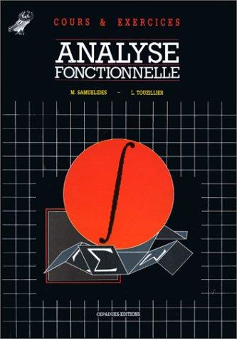 Analyse fonctionnelle: Samuelides, Touzillier