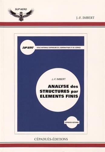 9782854282733: Analyse des structures par �l�ments finis