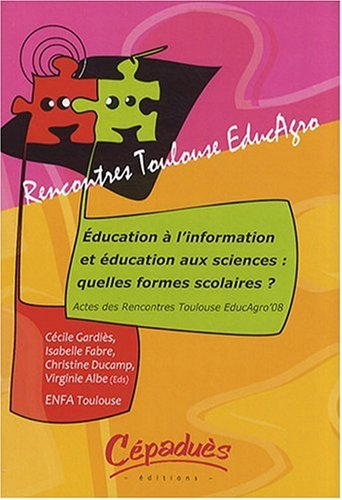 EDUCATION INFORMATION EDUCATION SCIENCES: COLLECTIF
