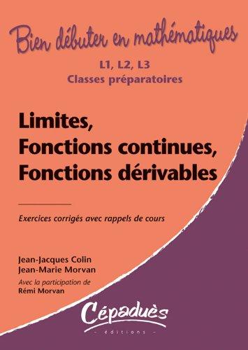9782854288506: Limites, fonctions continues, fonctions dérivables - Collection