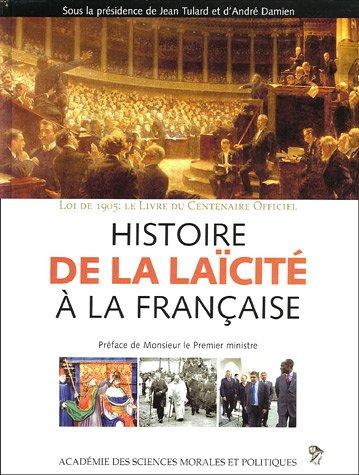 9782854434644: Histoire de la laïcité à la française (French Edition)