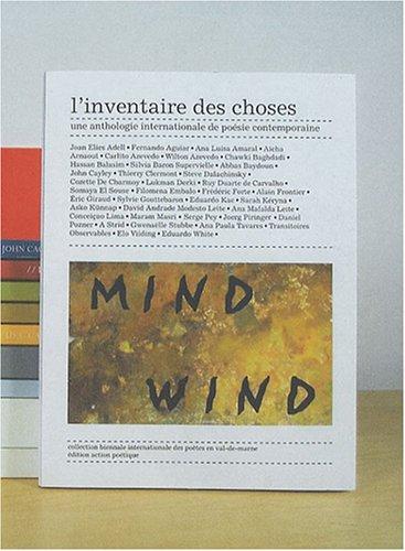 L'inventaire des choses : Une anthologie internationale: Adell, Joan Elies,