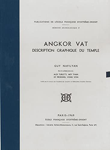 9782855394046: Angkor Vat. Description Graphique du Temple.