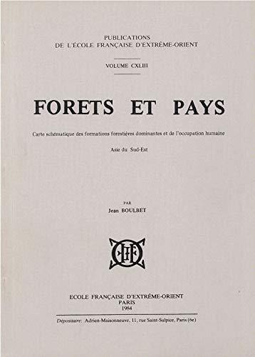 FORETS ET PAYS Carte schematique des formations forestieres dominantes et de l'occupation ...