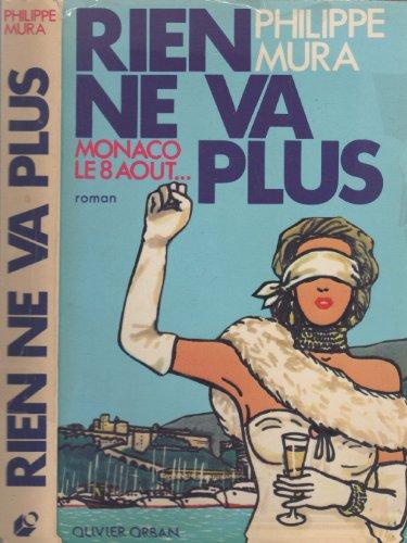 9782855651583: Rien ne va plus: Roman (French Edition)