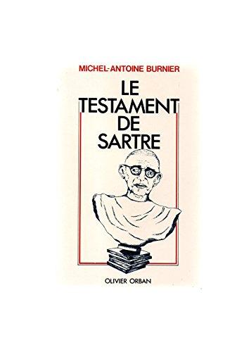 9782855651972: Le testament de Sartre (French Edition)