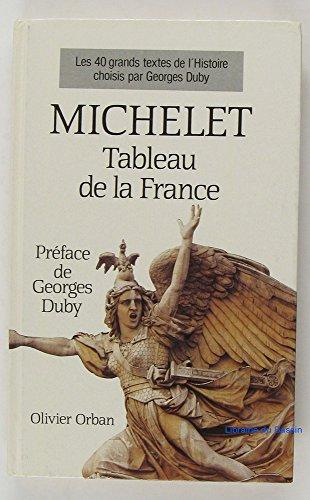 Tableau de la France (Orban): Michelet