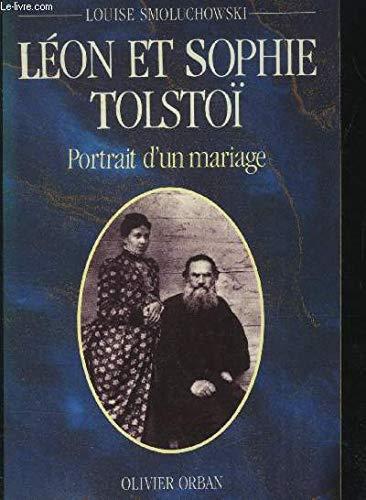 Leon et sophie tolstoi: portrait d'un mariage: Smoluchowski L'