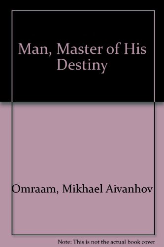 9782855661780: Man, Master of His Destiny
