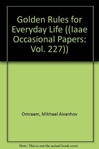 9782855664729: Golden Rules for Everyday Life (Izvor Collection, Volume 227)