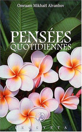 9782855669649: Pensées quotidiennes (French Edition)