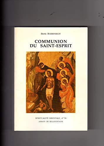 9782855893563: Communion du Saint-Esprit