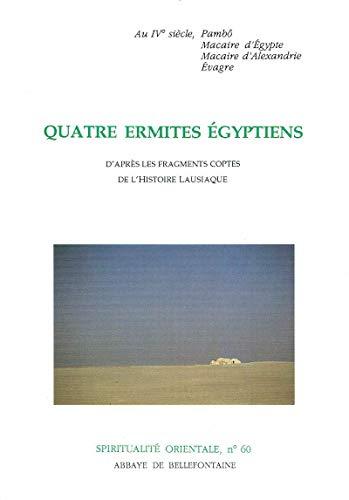 9782855893600: quatre ermites egyptiens