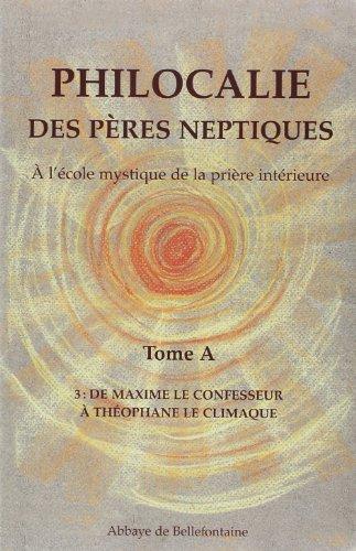 9782855899770: Philocalie des Peres Neptiques T.A3