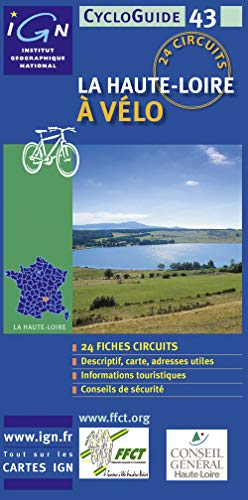9782855956831: Haute Loire Grand Format Cycloguide