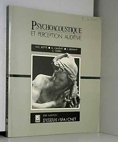 9782855984131: Psychoacoustique et perception auditive