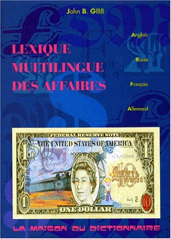 9782856080610: Lexique Multilingue Des Affaires