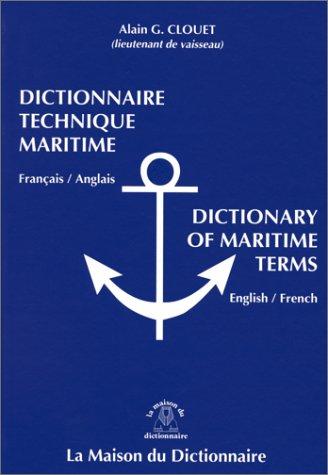 9782856080863: Dictionnaire technique maritime ang/fr V.V