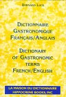 9782856080887: Dictionnaire Gastronomique (French and English Edition)