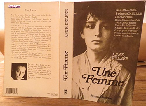 Une femme (French Edition): Delbee, Anne